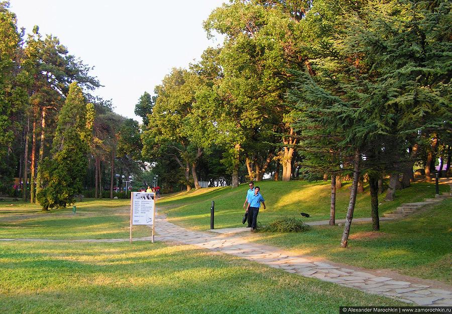 В парке Святого Константина (Болгария)