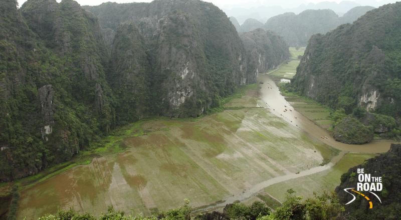 Magical Tam Coc river of Ninh Binh, Vietnam
