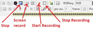 LED Edit recording a video
