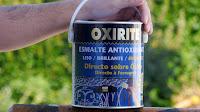Esmalte antioxidante directo sobre el óxido. www.enredandonogaraxe.com