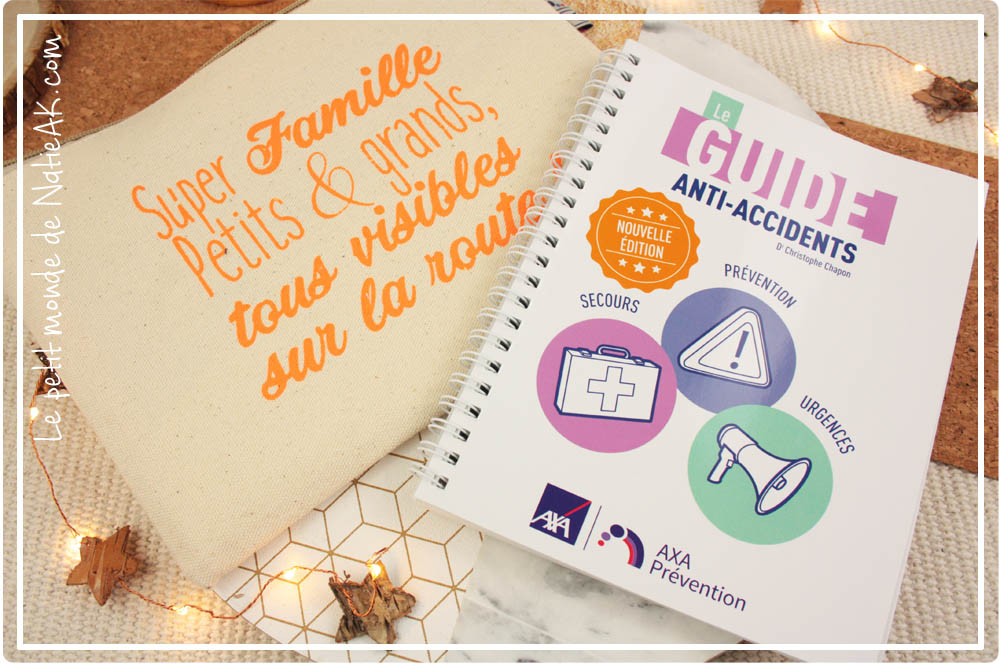 kit de visibilité et guide anti-accidents de Axa Prévention