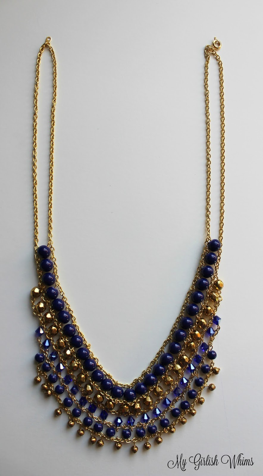 How to Make a Statement Necklace - My Girlish Whims