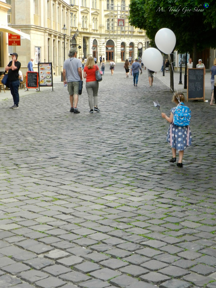 Bratislava's medieval Old Town is sure to charm it's visitors | Ms. Toody Goo Shoes #bratislava #slovakia #danuberivercruise