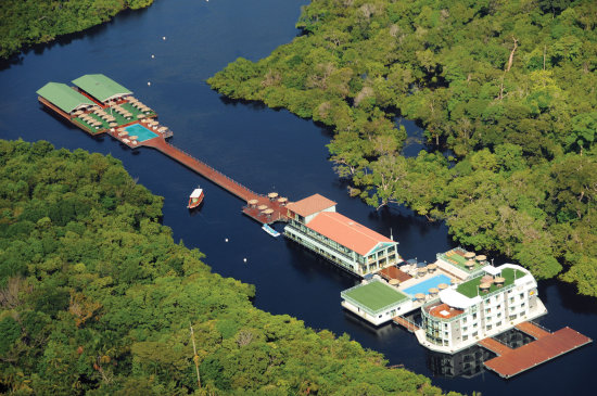 melhor hotel da Amazõnia