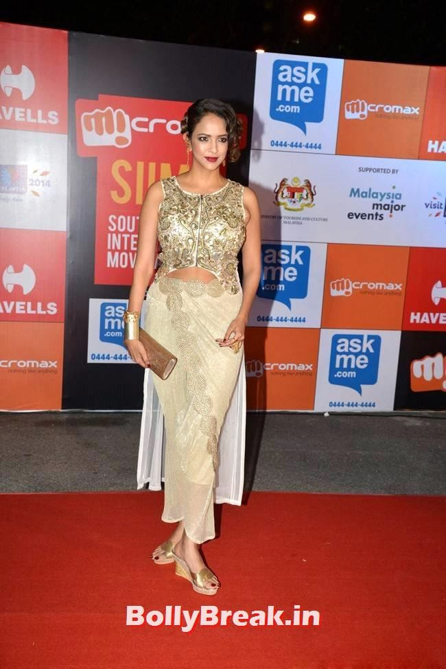 , Manchu Lakshmi pics from SIIMA Awards 2014