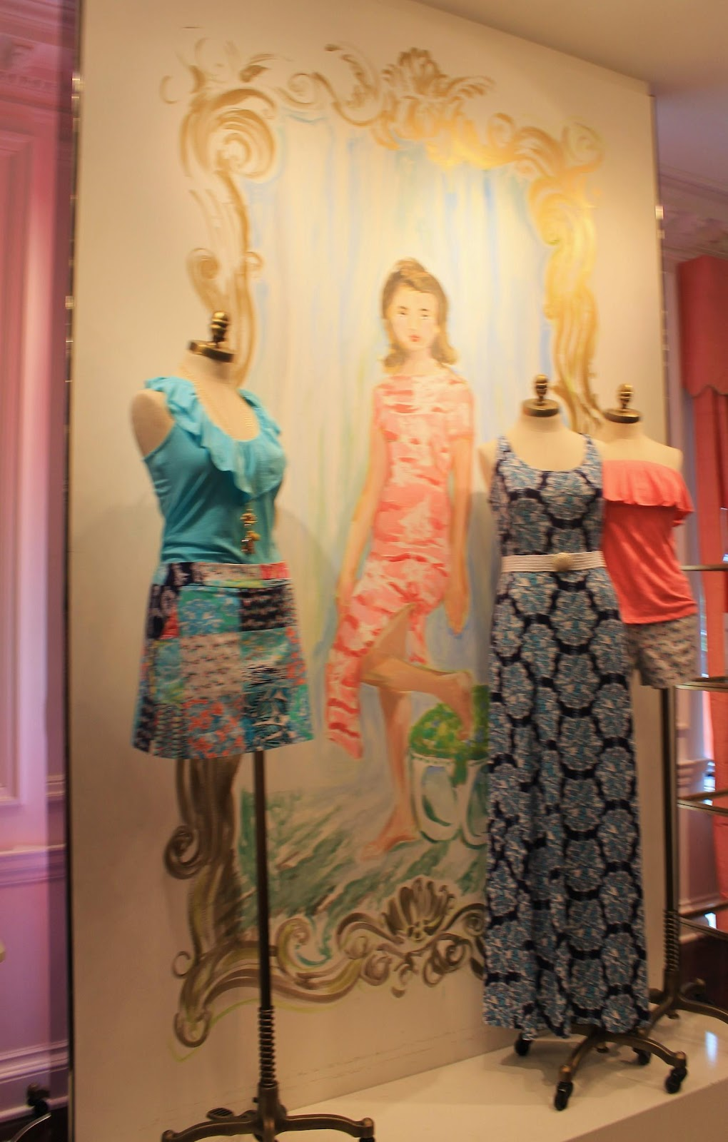 Maryland Pink and Green: Madison Avenue Townhouse: Part 2