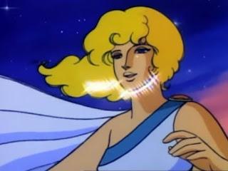 Captura de pantalla de los últimos momentos de la serie... aparece Penélope, la mujer de Ulises