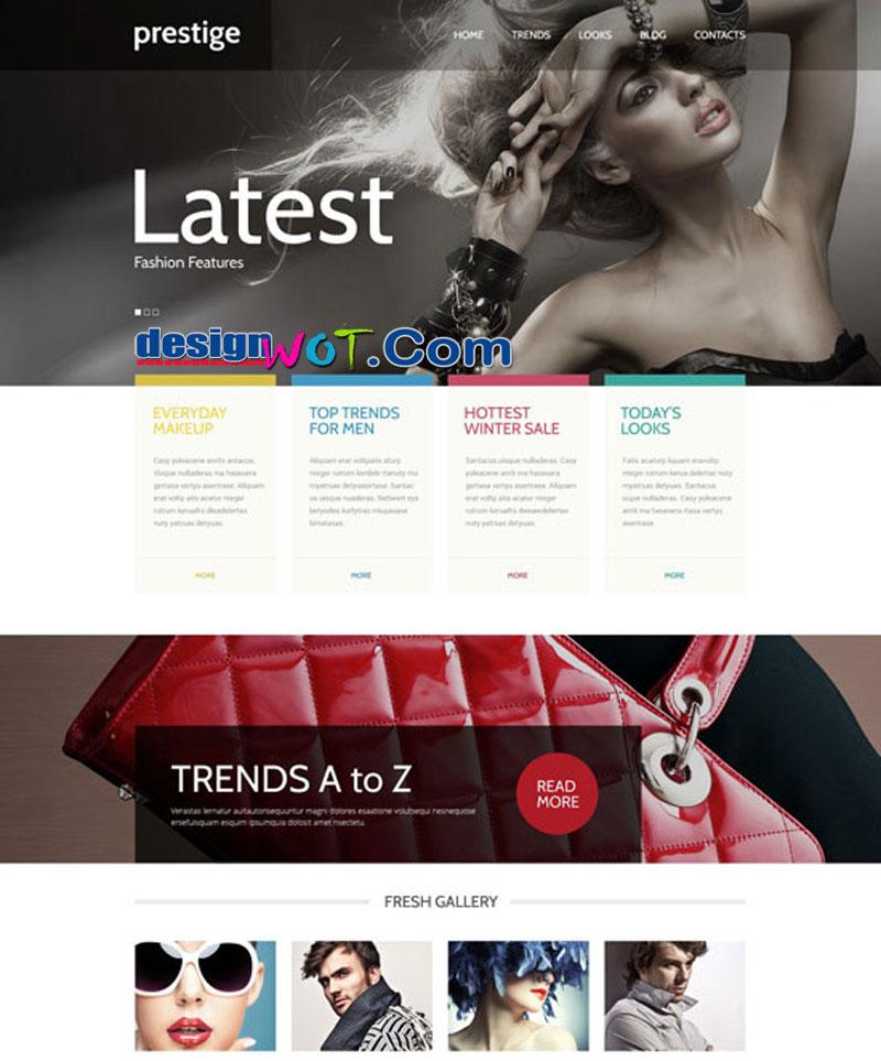 Prestige - Fashion WordPress Theme