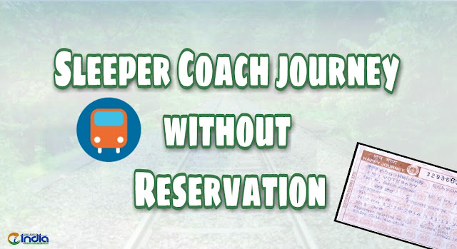 Sleeper coach journey without reservation