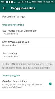 Menghemat Kuota Nelpon WhatsApp