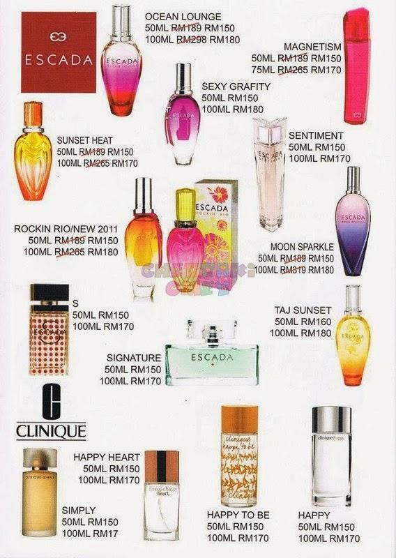 Escada Perfume History