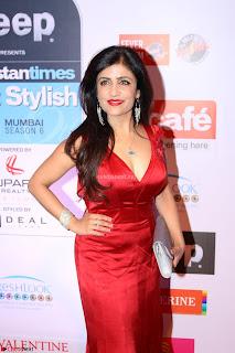 Red Carpet of Most Stylish Awards 2017 ~ Shibani Kashyap (2).JPG