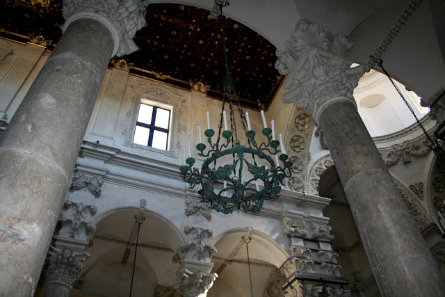 chiesa, colonne, arcate, monumento