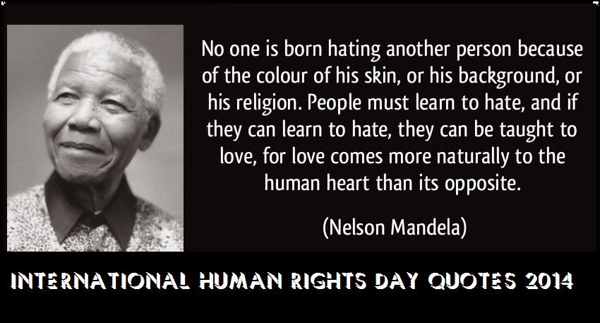 International Human Rights Day Quotes 2014