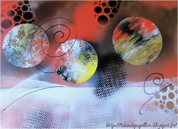 Peinture spray art moderne