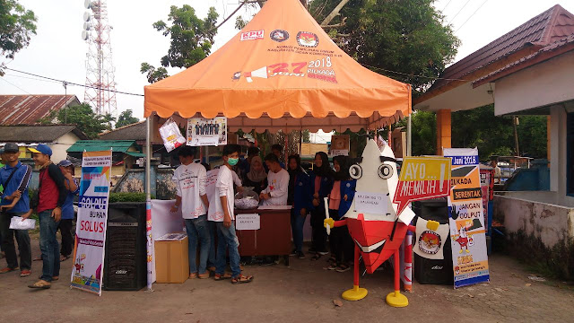 KPU OKI Goes to Kalangan