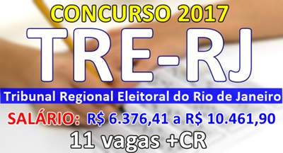 Apostila concurso TRE do Rio de Janeiro 2017