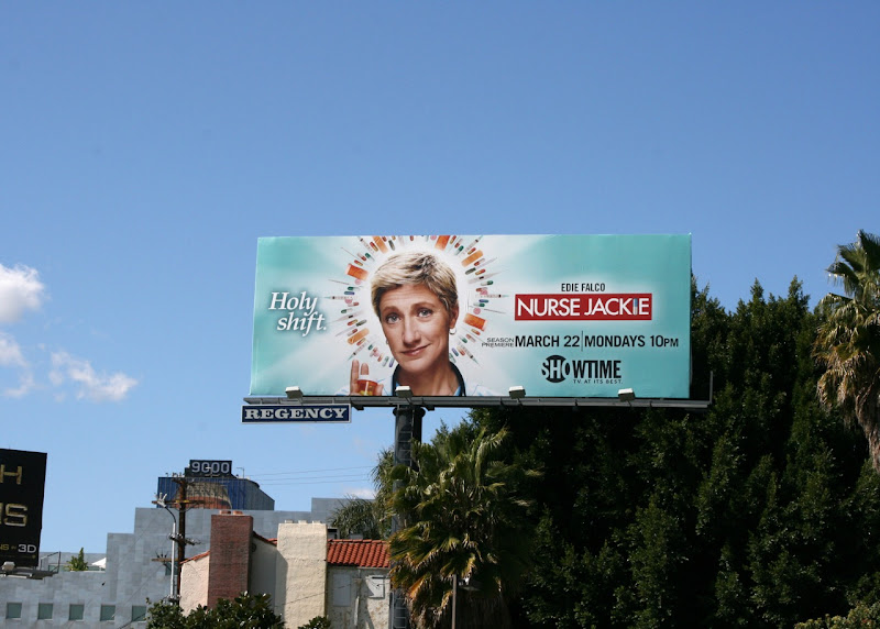 Nurse Jackie season 2 billboard