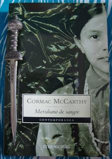 Portada del libro Meridiano de sangre, de Cormac McCarthy