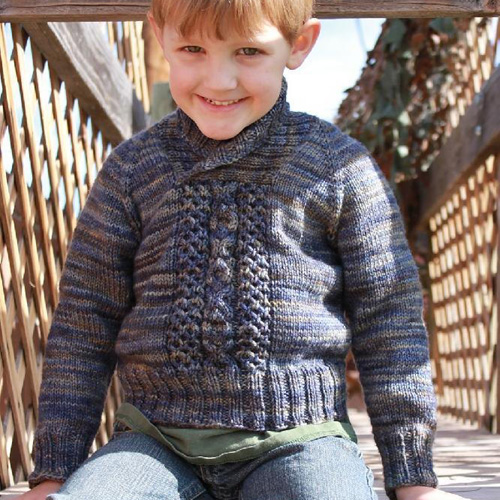 One For the Boys (... or Girls) - Free Pattern