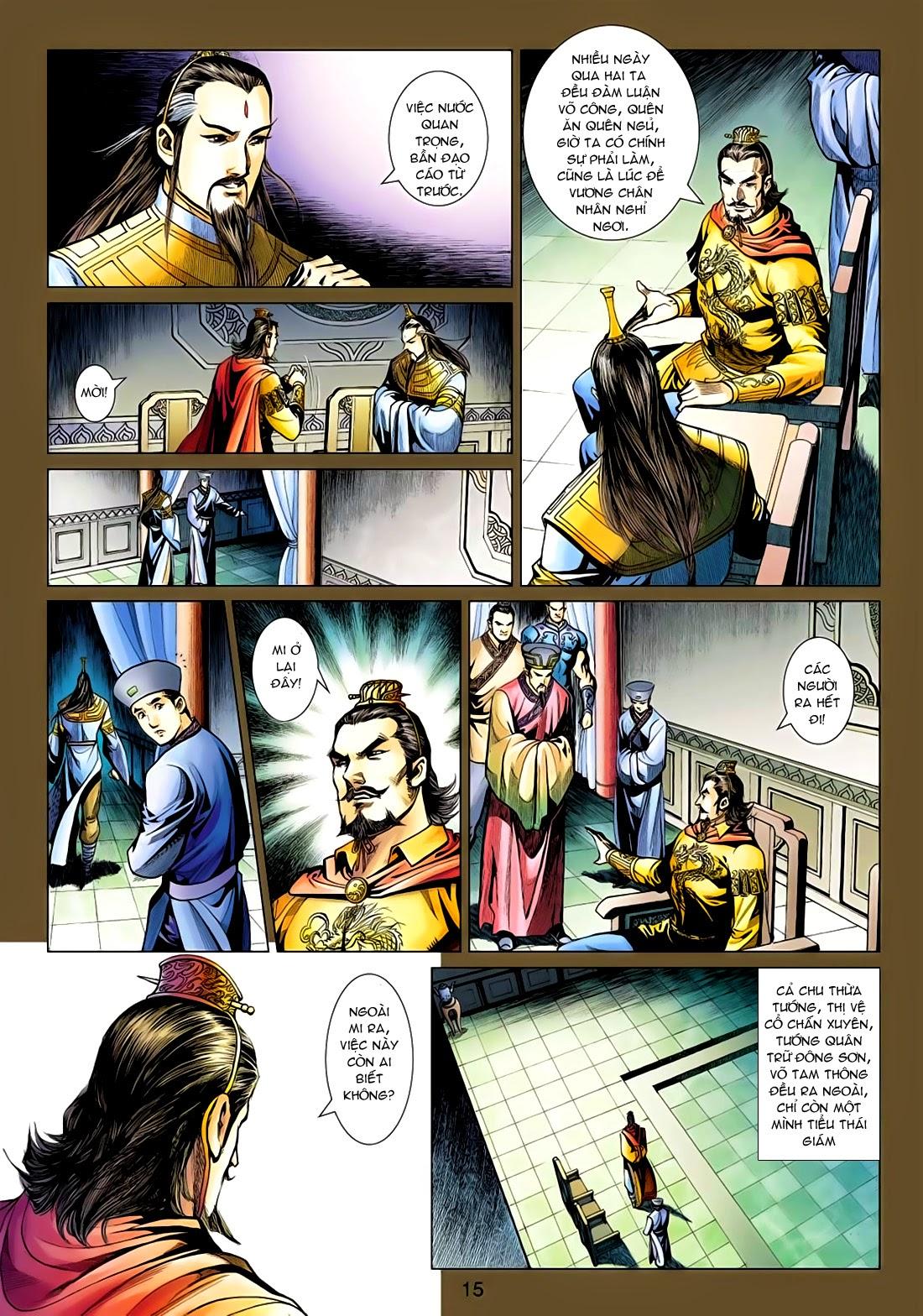 Anh Hùng Xạ Điêu anh hùng xạ đêu chap 77: thế thượng tối cường võ công trang 15
