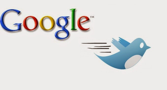 Twitter and google