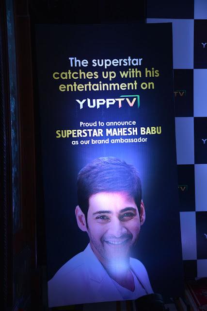 Mahesh Babu Brand Ambassador for YuppTV