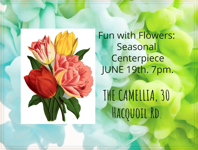 floral design classes at The Camellia, Thunder Bay