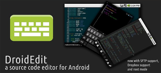 DroidEDIT For Android