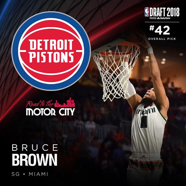 Bruce Brown   PistonsFR, actualité des Detroit Pistons en France