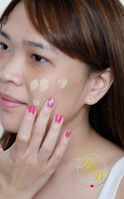 a photo of Kate The Base Zero Powdery Skin Maker Foundation Review by Nikki Tiu of www.askmewhats.com