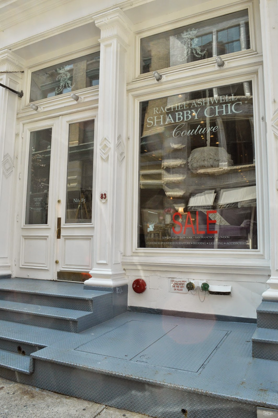 Shabby Chic Shop A Visit To Rachel Ashwell's Shabby Chic Store In New York