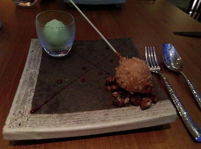 chocolate salan dagi, Nobu restaurant, KL, Malaysia