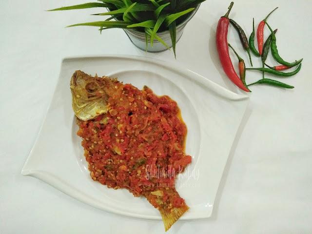 resepi ikan talapia goreng berlada