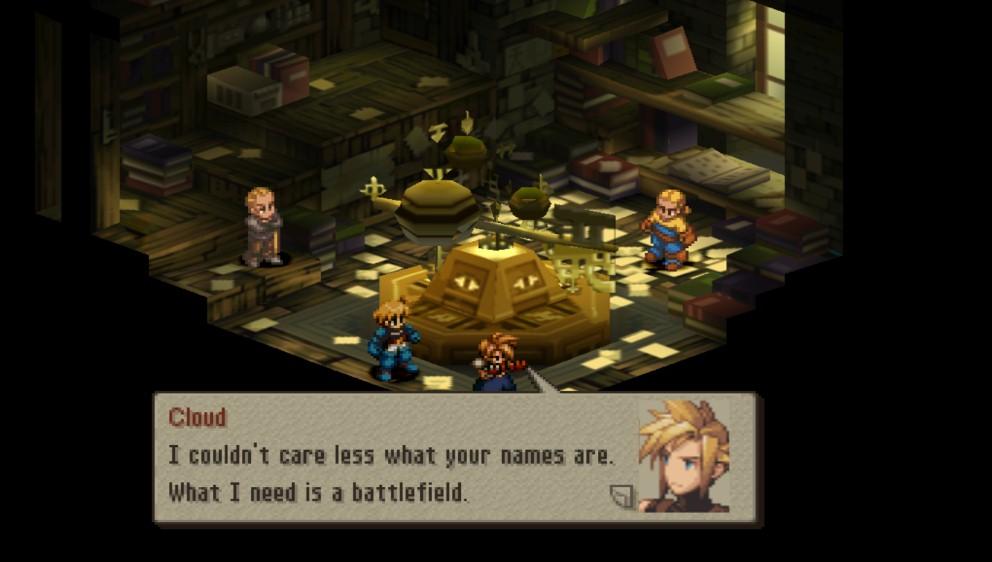 Image result for Final Fantasy Tactics Cloud
