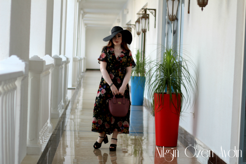 alışveriş-tatil şıklığı-kruvaze elbise-gül kurusu elbise-moda blogu-moda blogları-fashion blogger-fashion blog