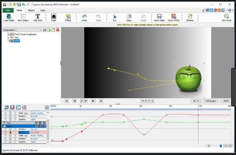 تحميل, برنامج, صانع, رسوم, متحركة, مع, مجموعة, أدوات, حديثة, ومتطورة, Express, Animate