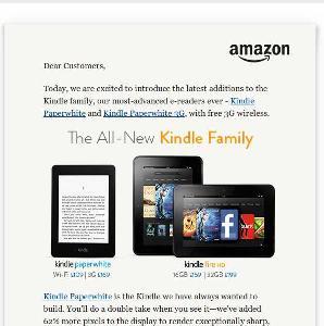 Kindle Paperwhite w Wielkiej Brytanii, Niemczej, Włoszech, Francji i Hiszpanii