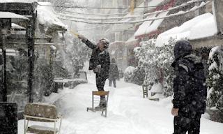 H κακοκαιρία επιστρέφει – Νέο κύμα με χιόνια και καταιγίδες σε λίγες ώρες