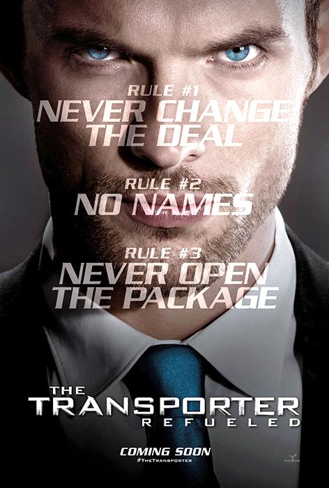 Primul poster pentru Transporter Refueled
