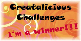 I won at Creatalicious!