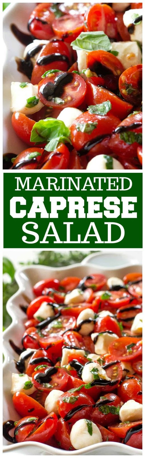 Marinated Caprese Salad