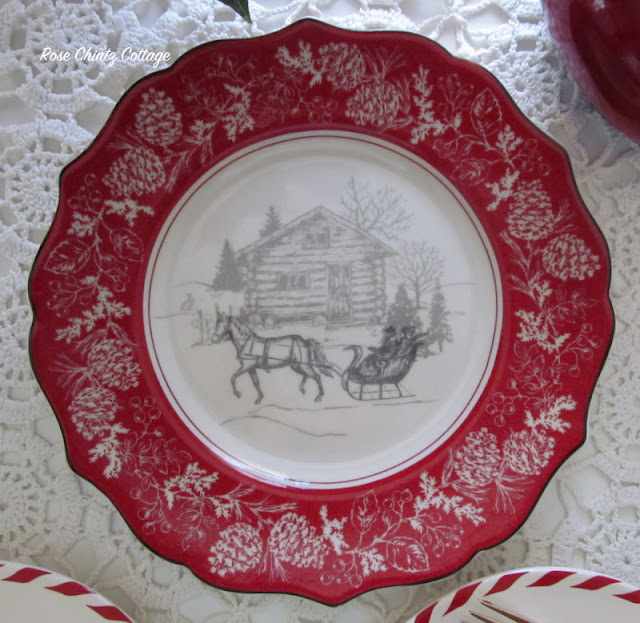 Rose Chintz Cottage A Christmas Tree Tea