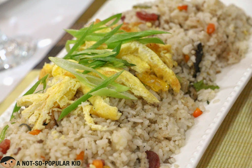 Metro Vigan Fried Rice that had a semblance with a Chinese-style Fried rice
