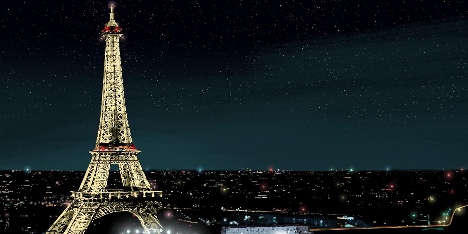 Travis Dixon: Paris At Night