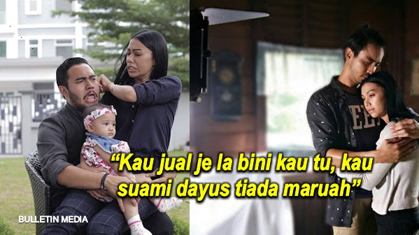 """Kau jual je la bini kau tu, kau suami dayus tiada maruah"" - Netizen Hentam Suami Sharifah Sakinah"