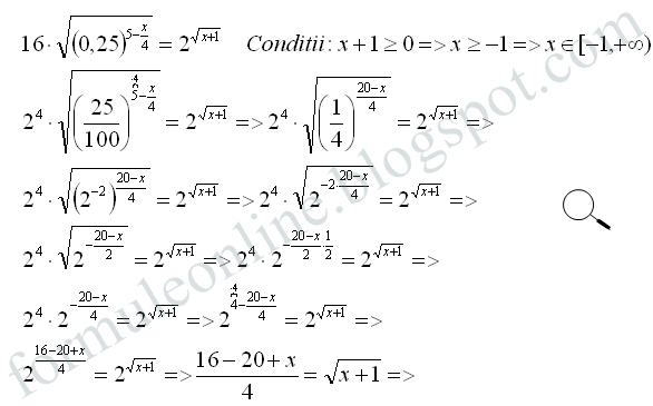 exponential equation example