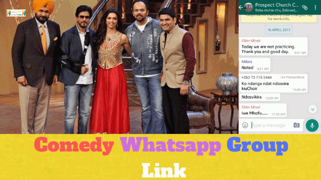 93+ Best Comedy Whatsapp Group Link List For Fun
