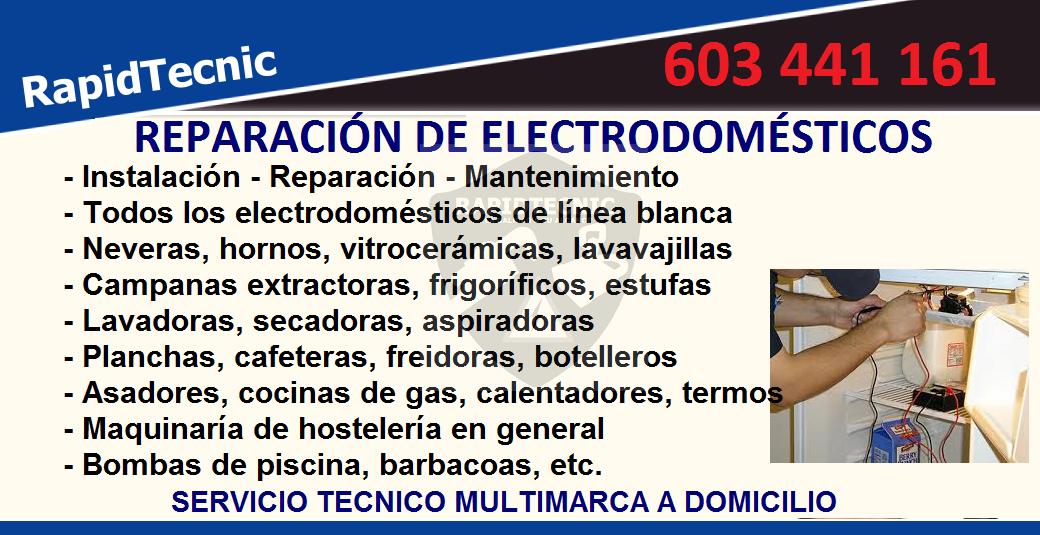 rapidtecnic valencia reparaci n de electrodom sticos