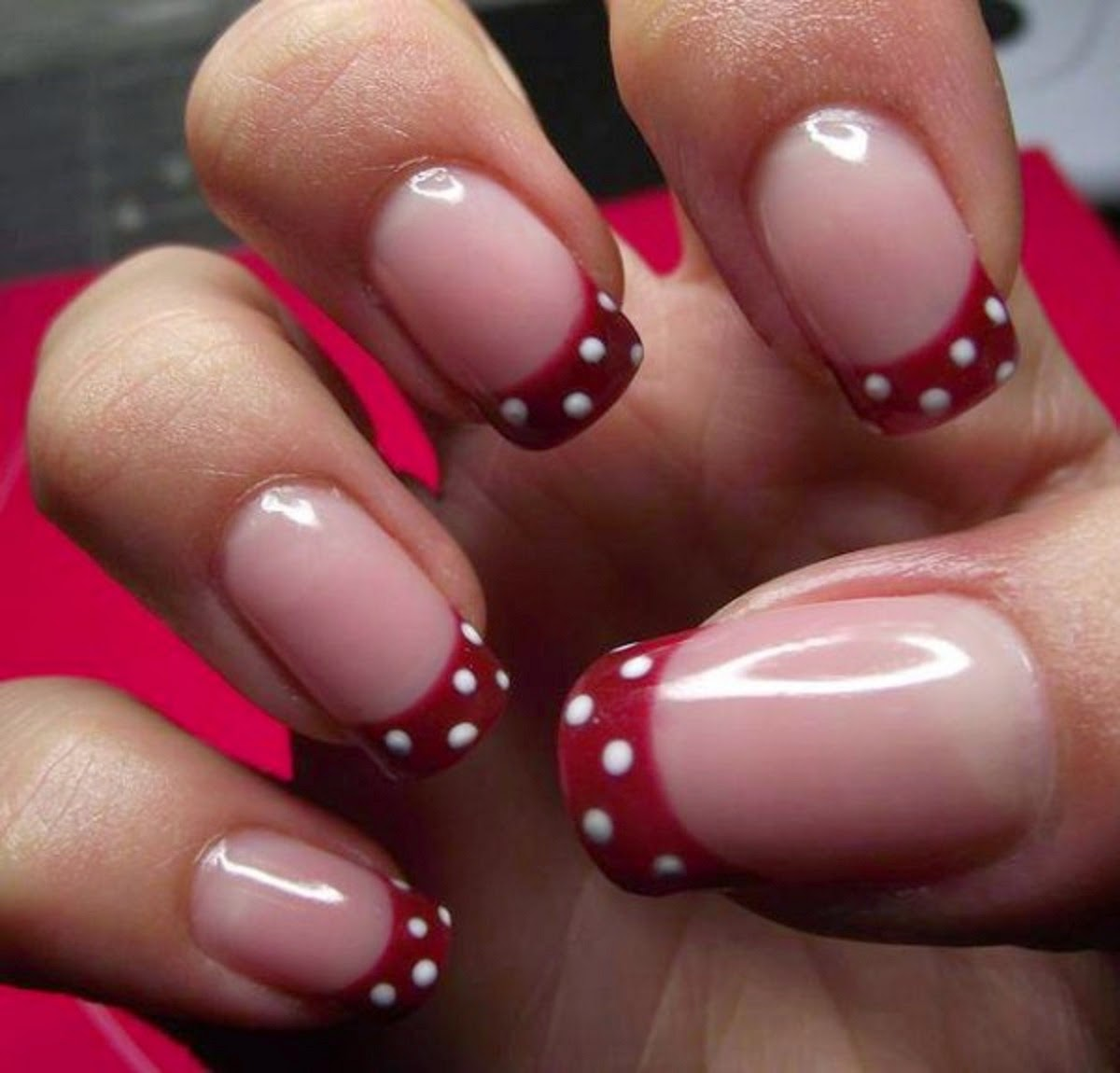 Dynamic Views Very Beautiful And Preity Nails Art Red
